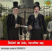 Beşiktaş-Fenerbahçe maçı Caps'leri