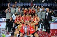 Şampiyonlar kupası Vakıfbank'ın