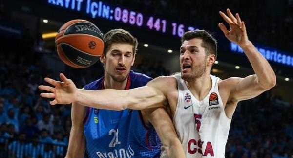 Anadolu Efes 78-80 CSKA Moskova Geniş Özeti İzle!