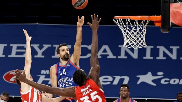Anadolu Efes 86 - 72 Kızılyıldız EuroLeague maç özeti izle