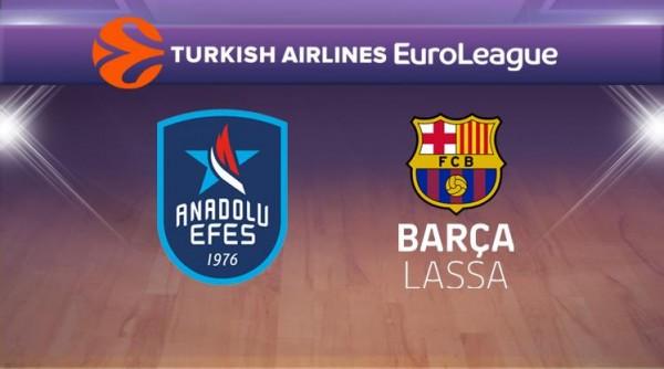 Anadolu Efes-Barcelona Lassa Maçı Canlı İzle!