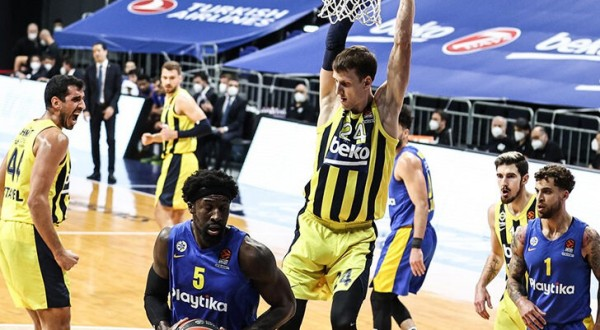 Fenerbahce Beko - Maccabi Playtika Maç özeti izle