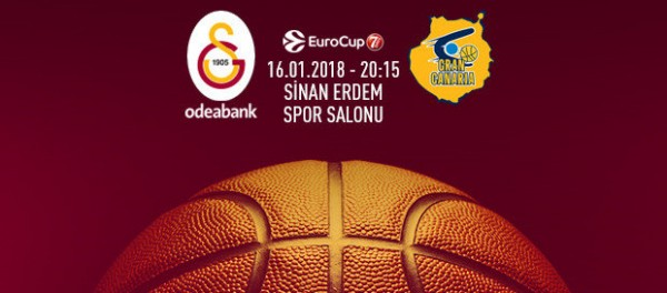 Galatasaray Odeabank-Gran Canaria Maçı Canlı İzle!