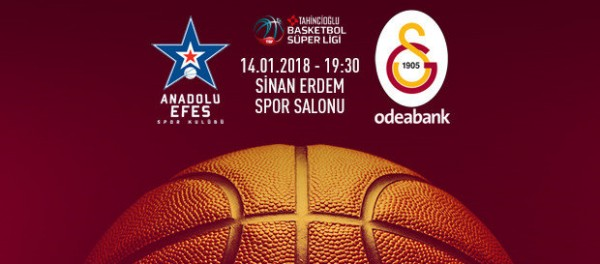 Anadolu Efes-Galatasaray Odeabank Maçı Canlı İzle!