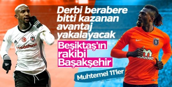 Medipol Başakşehir-Beşiktaş Maçı Canlı İzle!