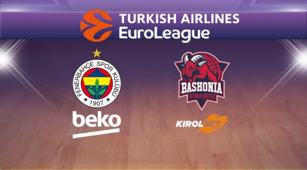 Fenerbahçe Beko-Baskonia Maçı Canlı İzle!
