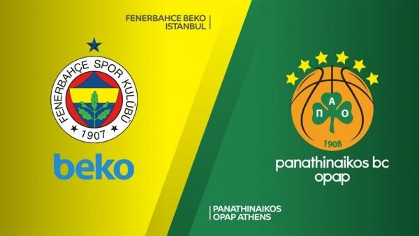 Fenerbahçe Beko-Panathinaikos Maçı Canlı İzle!