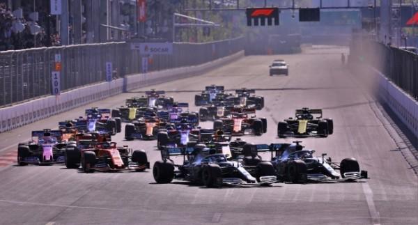F1 Azerbaycan Grand Prix Yarışı Antrenman ve Sıralama Turları Canlı İzle!