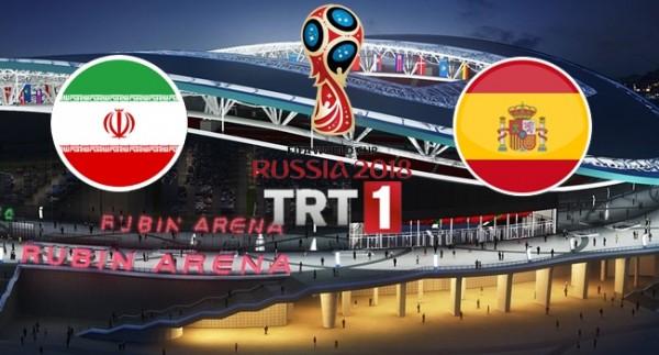 İran - İspanya Maçı Canlı İzle!
