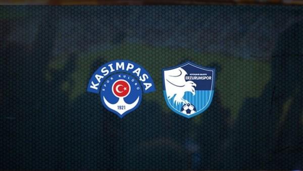 Kasımpaşa-Erzurumspor Maçı Canlı İzle! saat kaçta hangi kanalda?