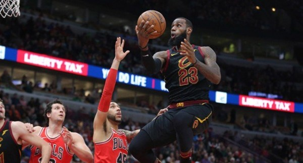 LeBron James'ten 70. triple double