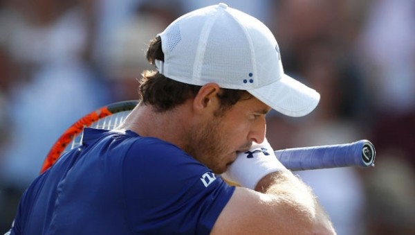 Murray, Queen's Club'a ilk turda veda etti