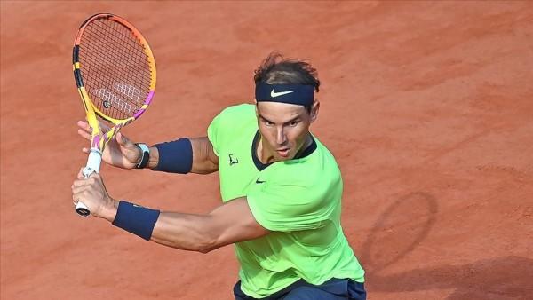 Fransa Açık son çeyrek final bileti Nadal'ın
