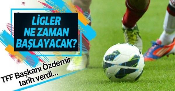 Nihat Özdemir'den Süper Lig açıklaması! Tarih verdi