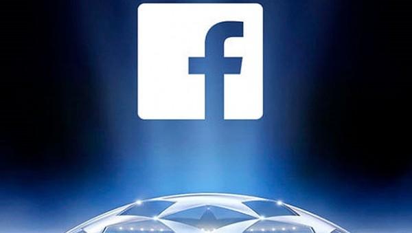 Şampiyonlar Ligi 3 yıl boyunca Facebook'ta!