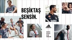 Beşiktaş Futbol Takımı'nın yeni sezonda giyeceği formaların tanıtımı yapıldı.