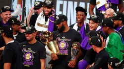 NBA'de şampiyon Los Angeles Lakers!