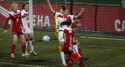 A Milli Kadın Futbol Takımı Rusya'da kayıp
