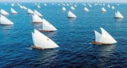 Arap yelkenlilerinin mücadelesi nefes kesti