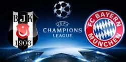 Beşiktaş-Bayern Münih Maçı ne zaman saat kaçta hangi kanalda?