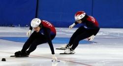 Buz pateninde yarışlar başladı