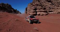 Dakar Rallisi'nin 7. etabında Sainz ve Barreda güldü