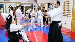 Engellilerin aikido başarısı dünyaya örnek oluyor