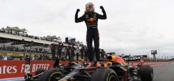 Formula 1 Fransa Grand Prix'sinde zafer Max Verstappen'in oldu!.