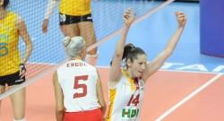 Galatasaray HDI Sigorta dörtlü finalde
