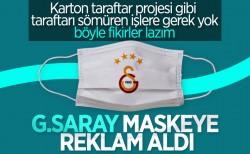 Galatasaray, maske için sponsor buldu