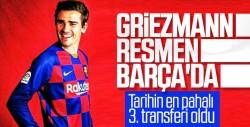 Griezmann resmen Barcelona'da