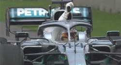 Meksika'da zafer Hamilton'ın