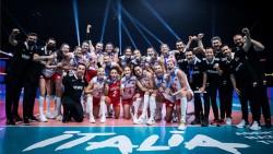 A Milli Kadın Voleybol Takımı Milletler Ligi'nde üçüncü oldu