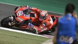 MotoGP'de sezonun ilk yarışı Dovizioso'nun