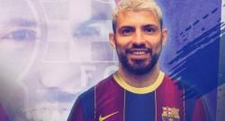 Sergio Agüero Barcelona'da