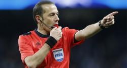 UEFA'dan dev maç için Cüneyt Çakır'a görev