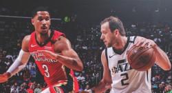 Utah Jazz'ı Pelicans durdurdu