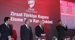 Ziraat Türkiye Kupası'nda 4. Eleme Turu kurası çekildi