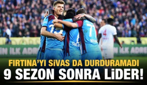 Trabzonspor 2-1 Sivasspor Maç Özeti İzle!