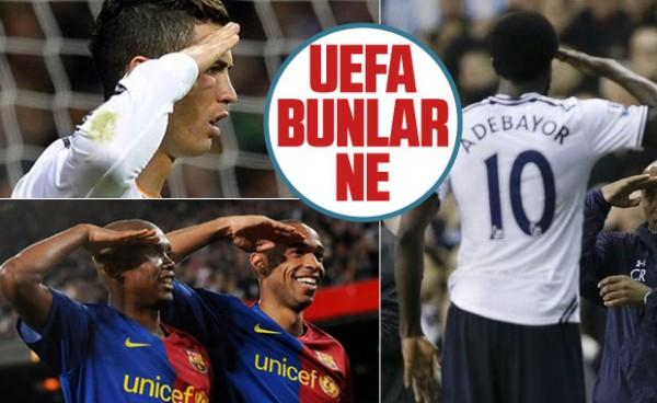 UEFA'ya göre asker selamı sadece Türk futbolculara yasak