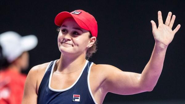 WTA Finalleri'nin şampiyonu Barty