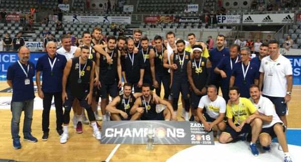 Zadar Doğuş Turnuvası'nda şampiyon Fenerbahçe